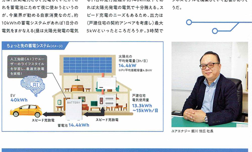 月刊スマートハウス別冊蓄電池専門誌ReCHARGE(リチャージ)No.2